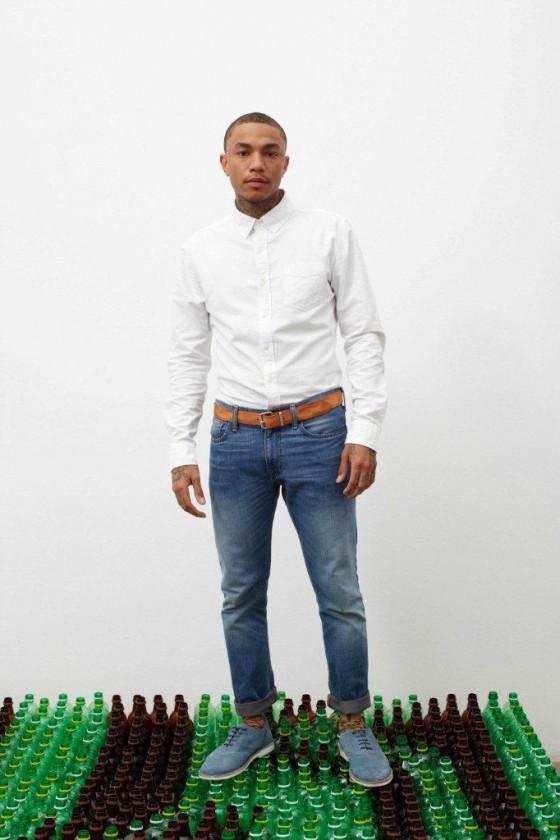 Imagem da campanha da Levi's de design sustentável