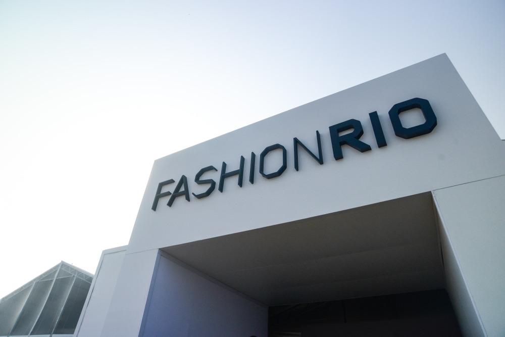 A tenda do Fashion Rio na  Marina da Glória (imagem: Agência Fotosite)